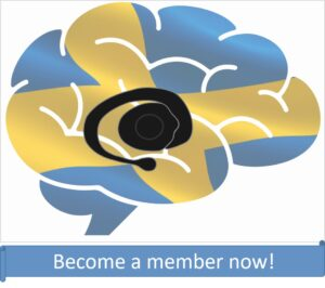Swebags logo with encouragement to become an member